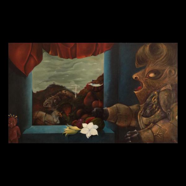 Horacio Bustos (1939 – ) Surrealist Painting