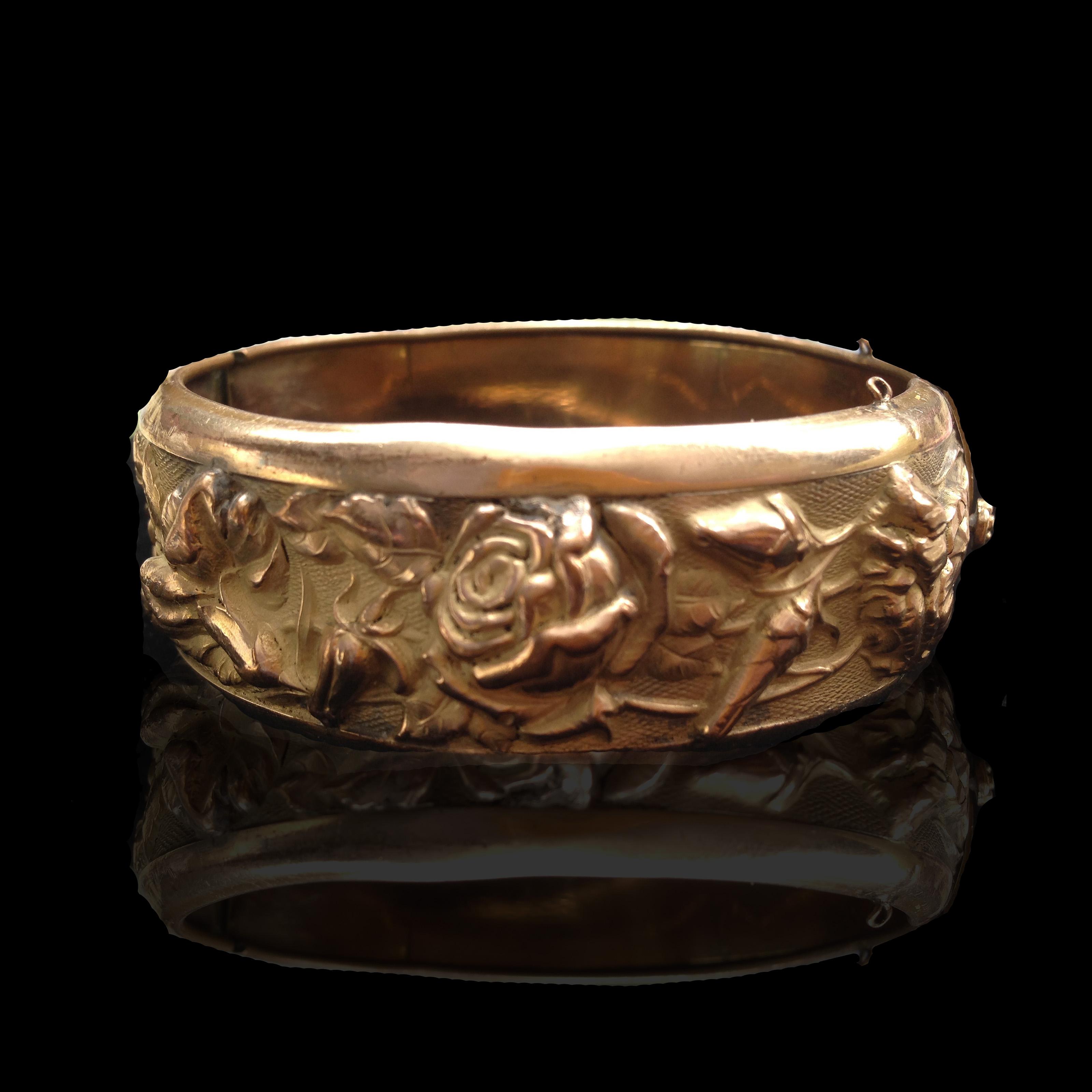 Gold Filled Flower Bracelet