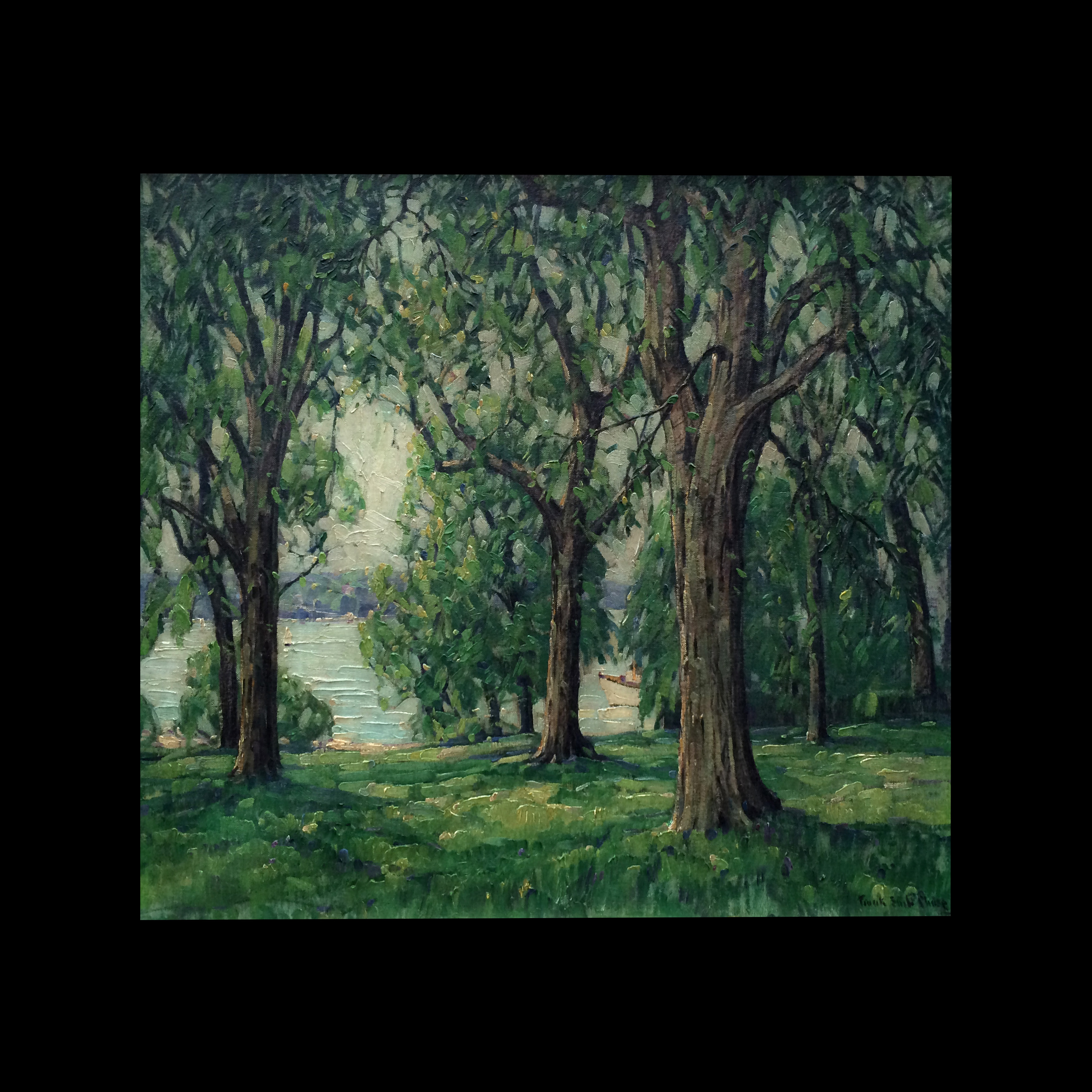 Frank Swift Chase (1886 – 1958) Oil Painting Forest