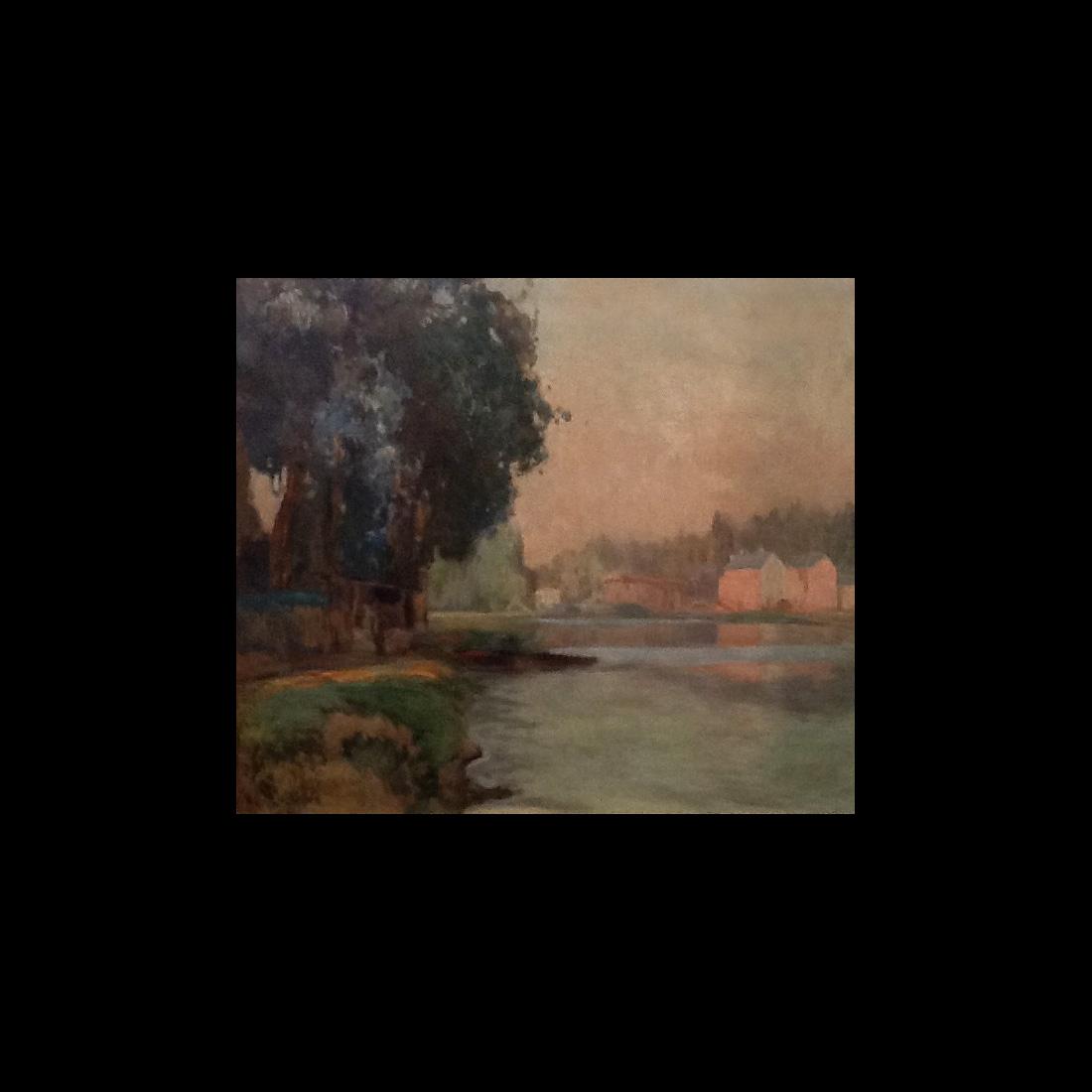 Thomas Leitner (1876 – 1948) Oil Painting Landscape