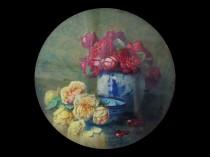 "Isidore Rosenstock (1880-1956) French Impressionist painter ""Flowers""circa 1915"