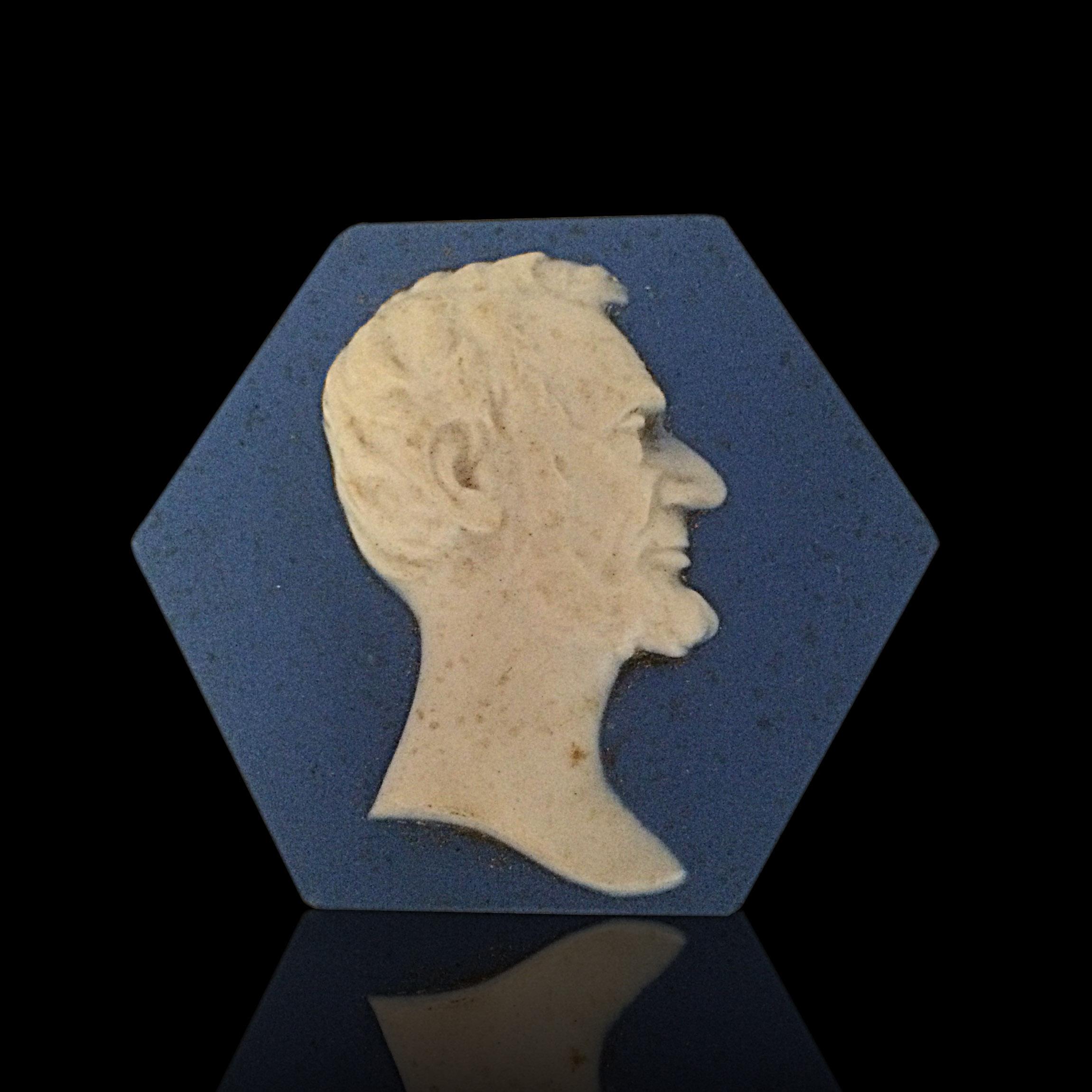 Mosaic Tile Company rare Abe Lincoln
