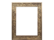 Hand Carved Art Nouveau Frame