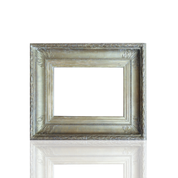 American Frame Fluted Cove with Leaf pattern c.1860 Flutted Cove with Leaf Frame