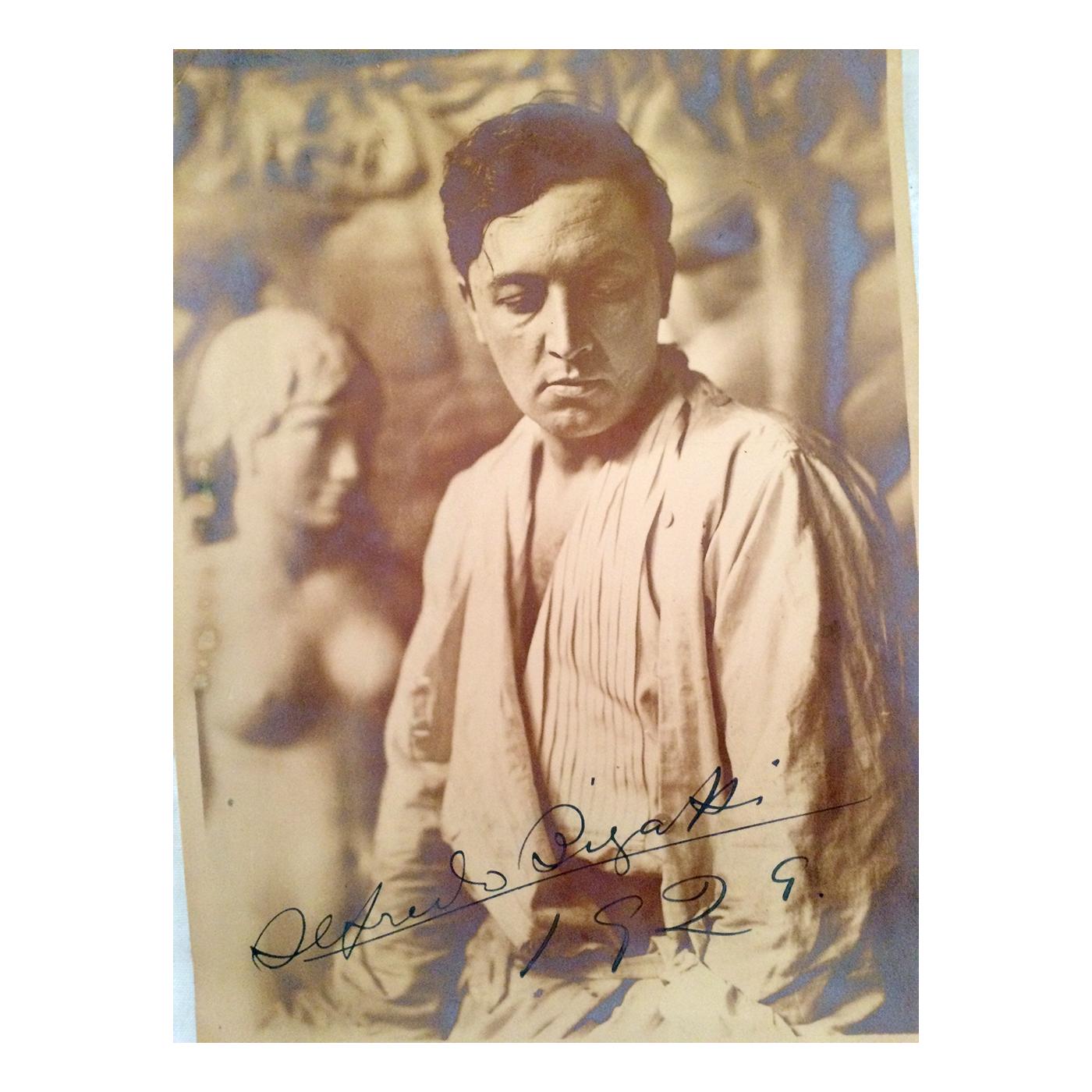 Alfredo Bigatti (1898-1964) Photograph of Argentine sculptor c.1929