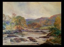 Charles Harmon Harrison 1842-1902 British artist Landscape c.1880