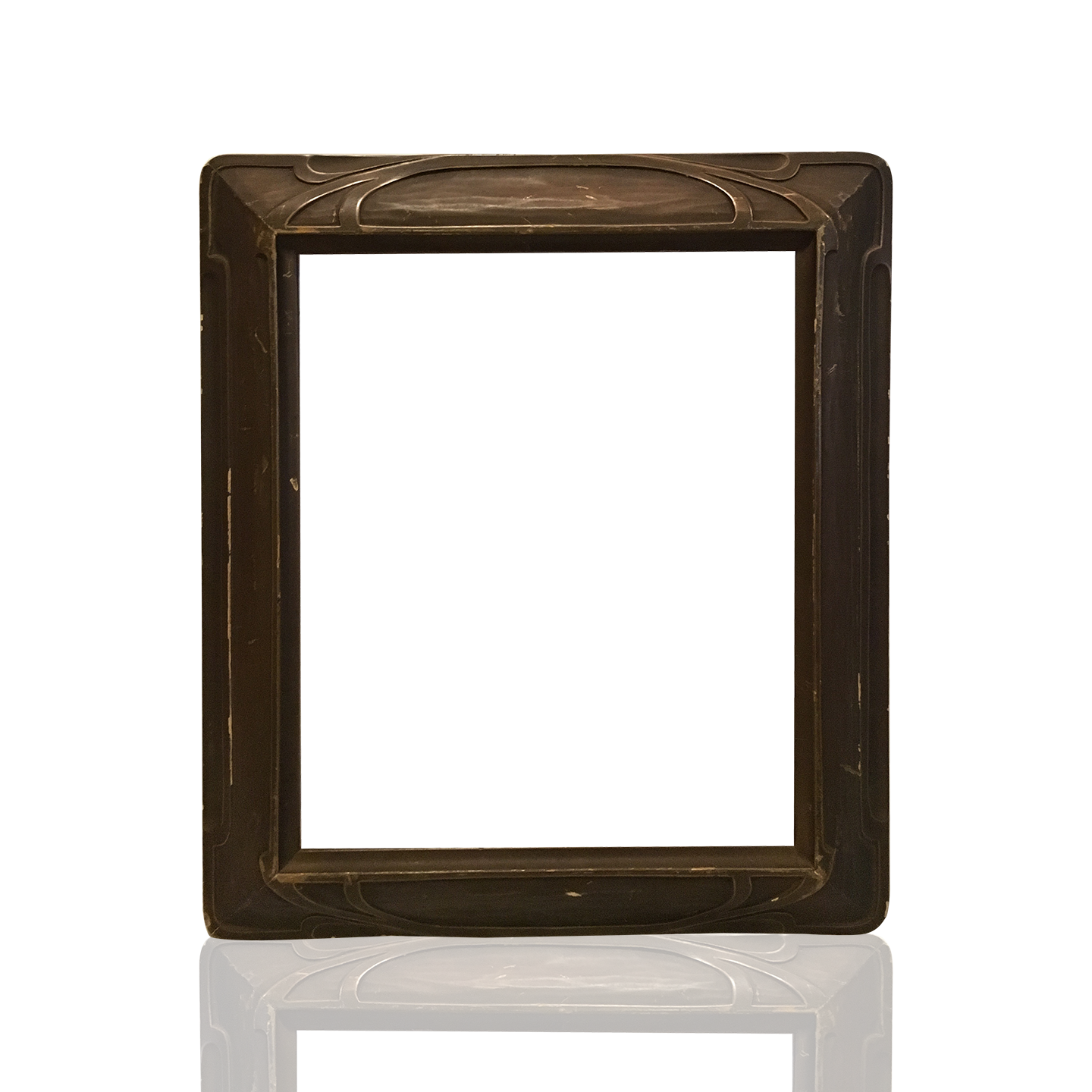 Arts and crafts american frame circa 1900 from here to for Craftsman frame