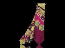 Emilio Pucci [1914-1992] Vintage Italian 1960s Psycedelic Silk Tie