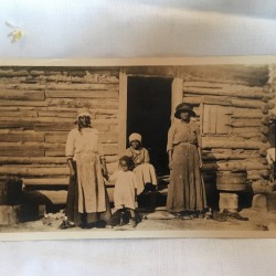 Afro-American Southern Family photo circa 1900