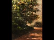 Italian Spanish School Impressionist Landscape Circa 1870
