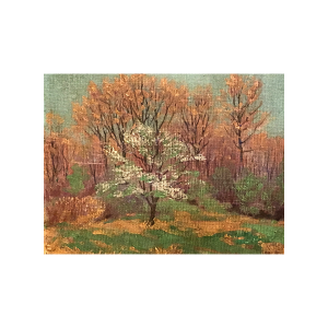 "Tom Wilder [1876-1956] Michigan/New Hampshire Impressionist Painting ""Springtime"" circa 1920"