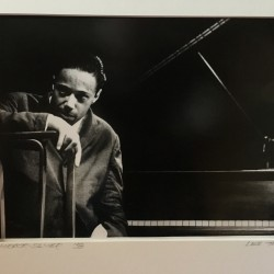 """Lee Tanner (1931-2013) Jazz Performance Photographer """"Horace Silver""""1958"""