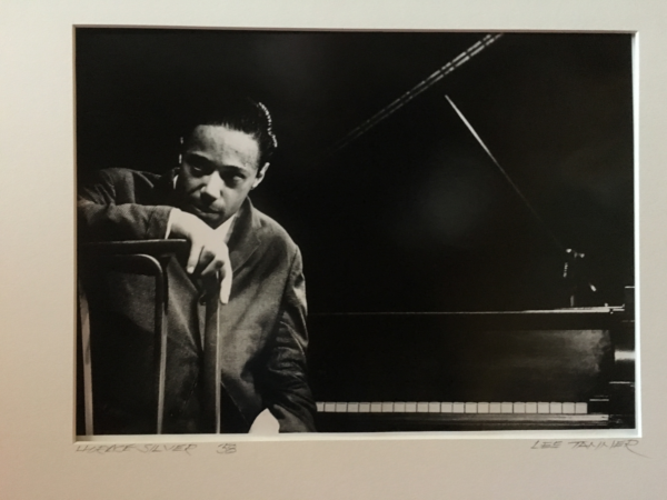 "Lee Tanner (1931-2013) Jazz Performance Photographer ""Horace Silver""1958"