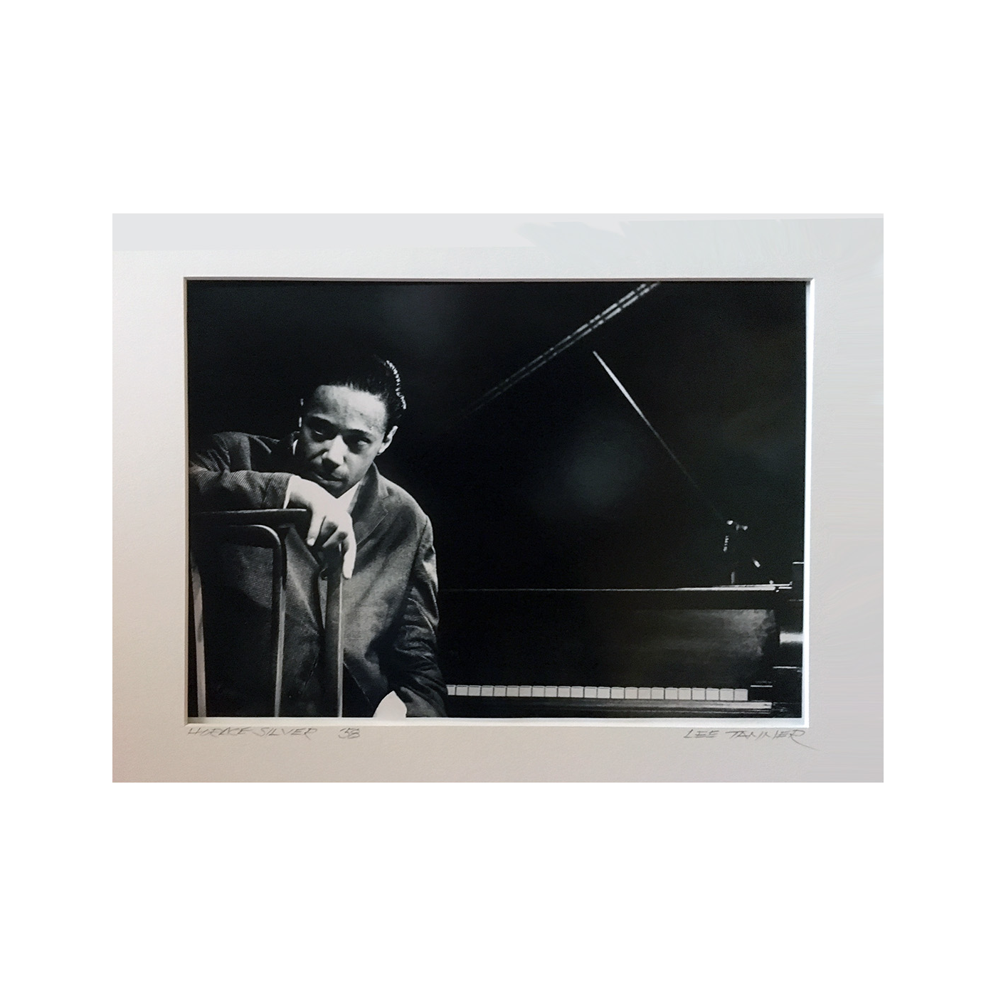 "Lee Tanner [1931-2013] Jazz Performance Photographer ""Horace Silver"" 1958"