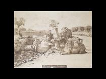 "Vintage Photograph ""Well of the Magi"" Circa 1890-1900"