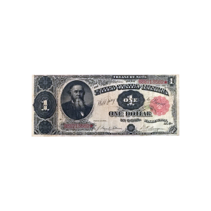 1891 Stanton Large One Dollar Treasury Coin Note