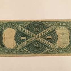 "1917 series "" Washington"" one dollar bill"