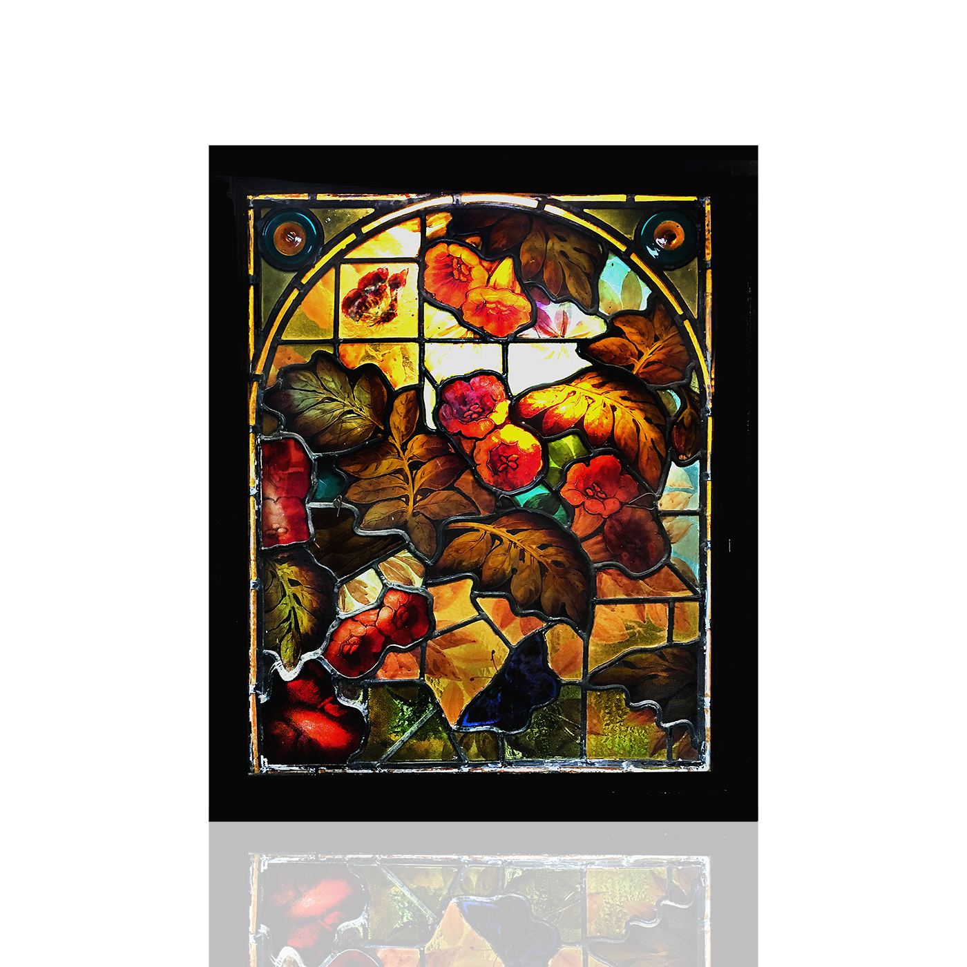 Daniel Cottier [1837-1891] Stained Glass For Sale