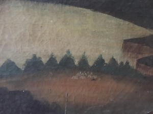 American School Encampment by the Lake circa 1830-1840