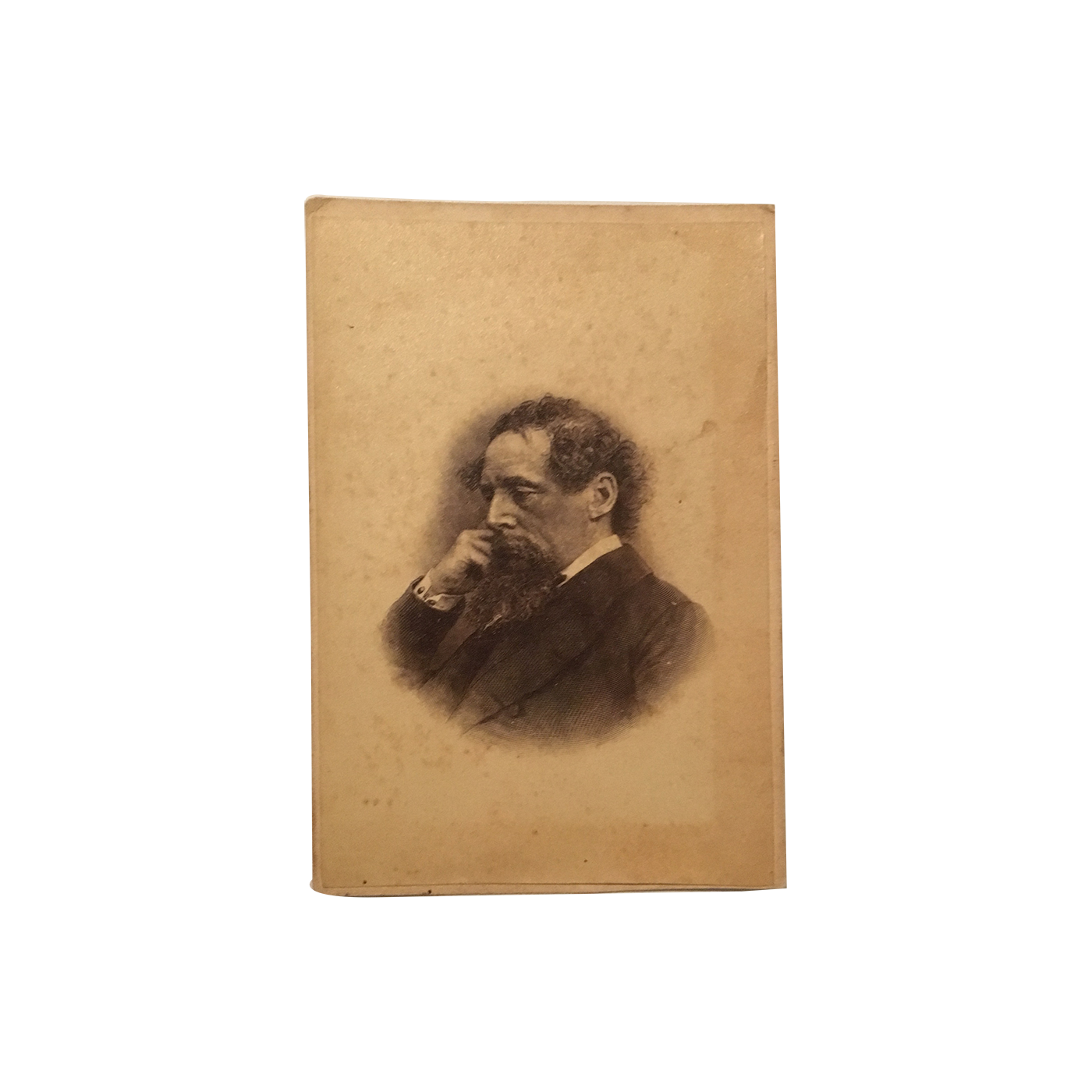 Charles Dickens Steel Engraving Based On A John Watkins 1836 1882 Carte De Visite Photograph From 1863