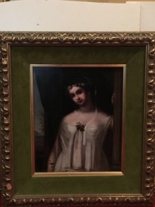 """ Portrait of Cressida"" French school circa 1850"