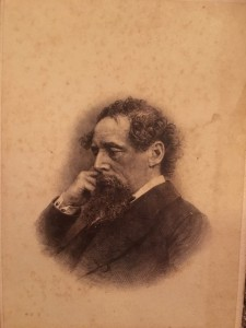 Unattributed Engraver English or American Steel engraving of author Charles Dickens, c.1863-1900s Based on a John & Charles Watkins [1836-1882] Carte-de-visite photograph from September, 1863 (original at the National Portrait Gallery in London) Print on paper 3-1/2 x 2-1/2 inches