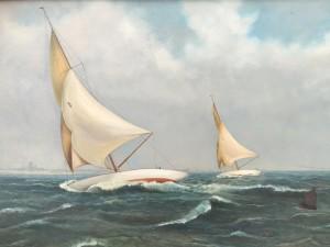 "American School ""The Race"" circa 1900"