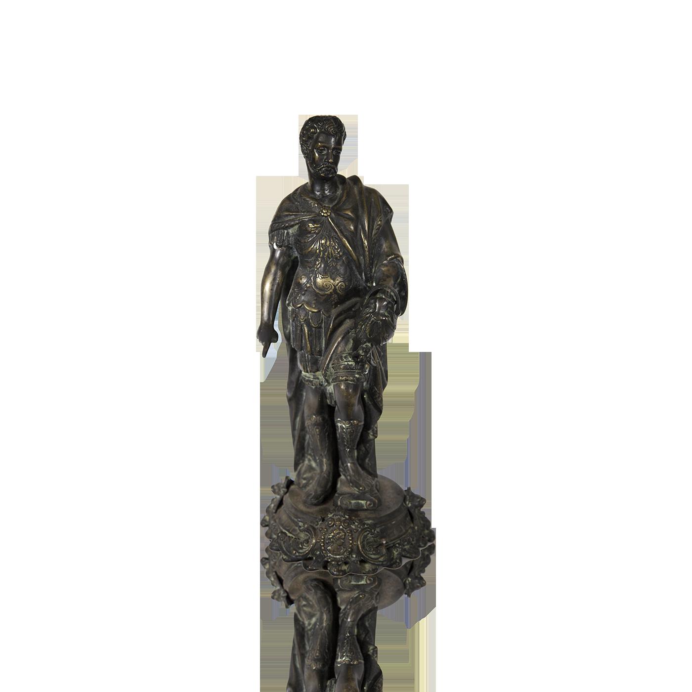 Italian school bronze of Ceasar ca. 1860's