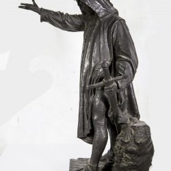 "Bronze Figure of ""Cola Di Rienzi"" circa 1870"