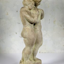 "American School Sculpture ""Young Lovers"" circa 1930"