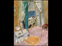 "Jean Gerard Matisse [1889-1976] French Artist and Sculpture ""Homage to Matisse"" 1968"