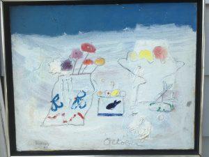 """Edith Schloss [1919-2011] American modernist artist """"October 1969 """""""