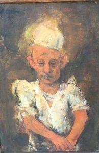 "Lennart (Anders) Anderson [1928-2015] American Artist ""Short Order"" 1950"
