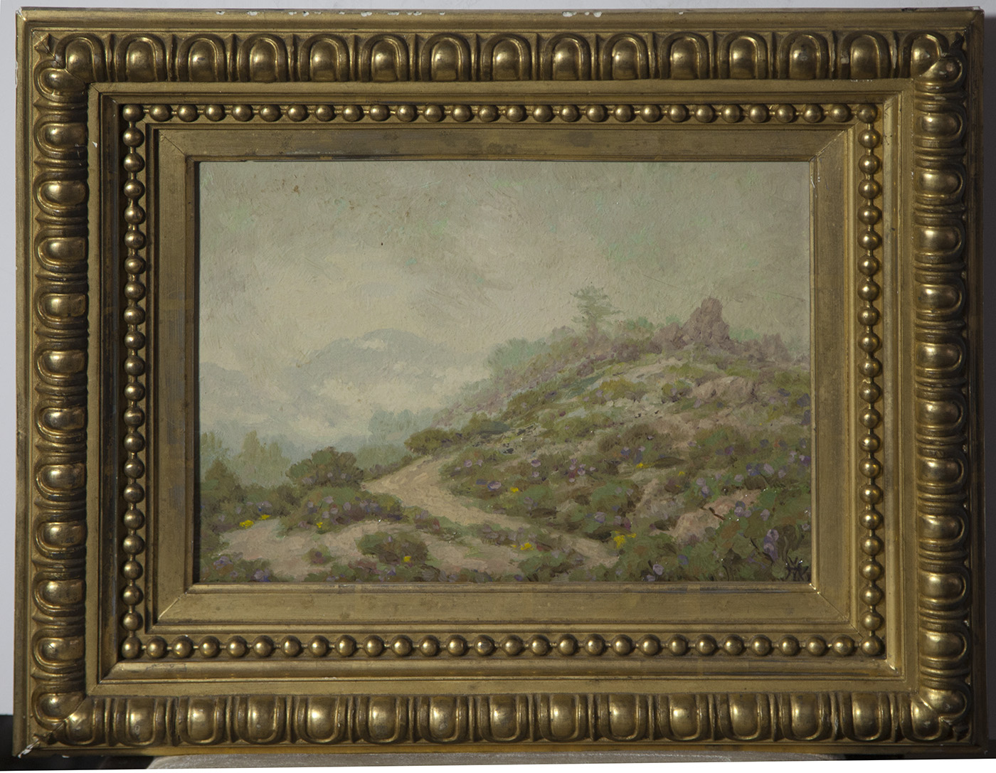 """Harry Victor Law [1866-1952] California Impressionist """"Souvenir from ..."""