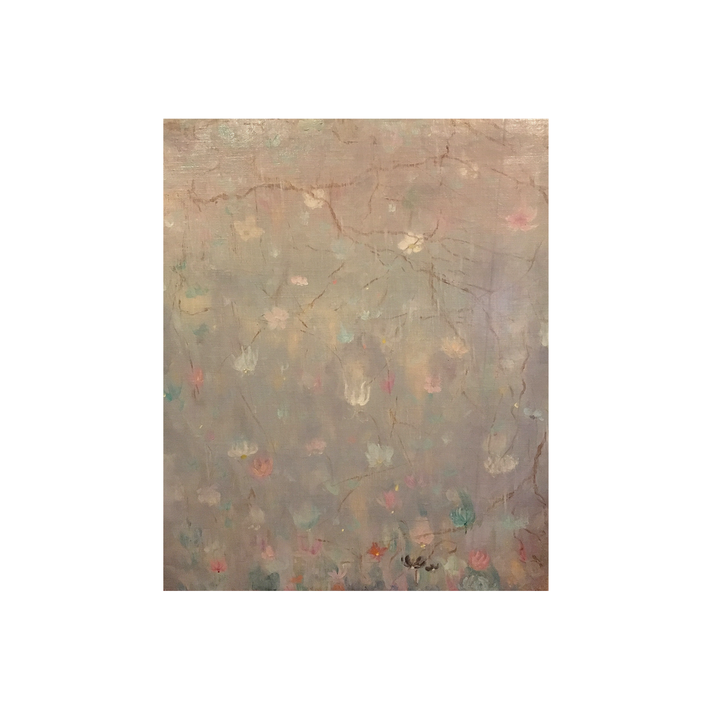 "Glenn Stuart Pearce [1909-1986] American Impressionist painting "" Cherry blossoms"" 1930"