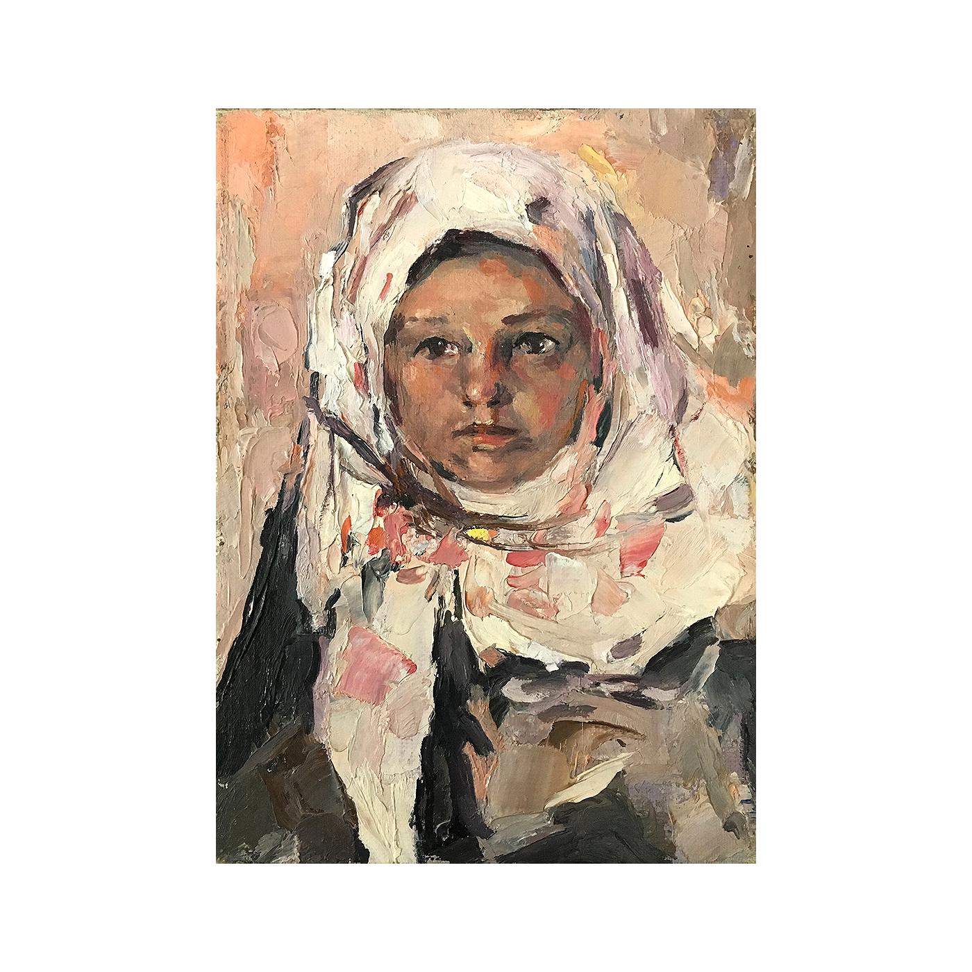 """Russian school """"Young Woman""""ca. 1930"""