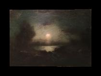 """American school """"Nocturn in moonlight"""", ca.1889"""