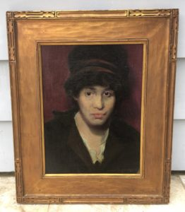 """Morris Kallem [1889 - 1953] American Portrait painter """"Liza"""" 1913"""