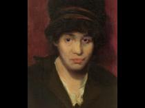 Morris Kallem [1889-1953] American portrait painter : Liza, 1913.