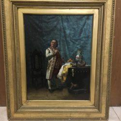 "Edwin Blashfield [1848 - 1936] American artist ""Draining the Glasses""circa 1870's"