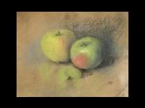 Hannah Cutler Groves [1868-1952] American : Apples, 1920.