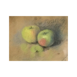 Hannah Cutler Groves [1868-1952] American : Apples, 1920.