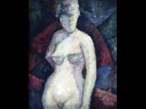 American school : Modernist nude, ca.1940.