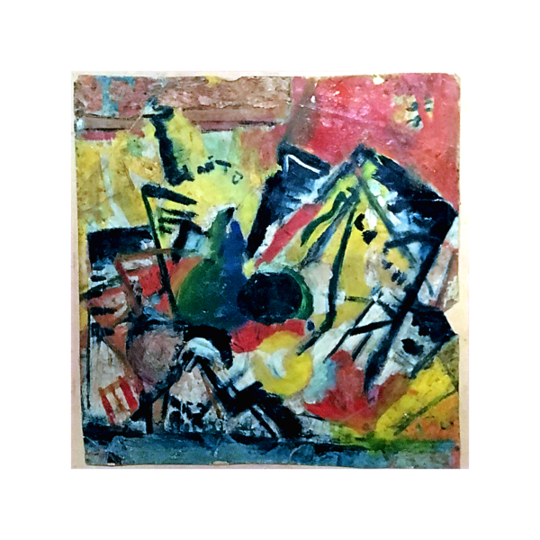 American school abstract expressionist painting : Untitled,
