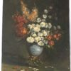 Floral painting : Still life with white daisies, ca.1880.