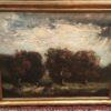 Henry Ward Ranger [1858-1916] Barbizon landscape : Landscape with figure on horseback, 1894.