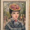 Suzanne Eisendieck [1909-1998] German artist school of Paris painting : Young beauty, ca.1940.