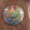 Frank J. Marshall [1884-1975] American Art Nouveau : Peacock box, ca.1912-ca.1914.