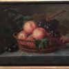 Pierre Duval Le Camus [1790-1854] French Still life : Still life with peaches,cherries and grapes, 1818.