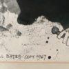 Maxwell Bennett Bates [1906-1980] Canadian artist : Opera, 1967.